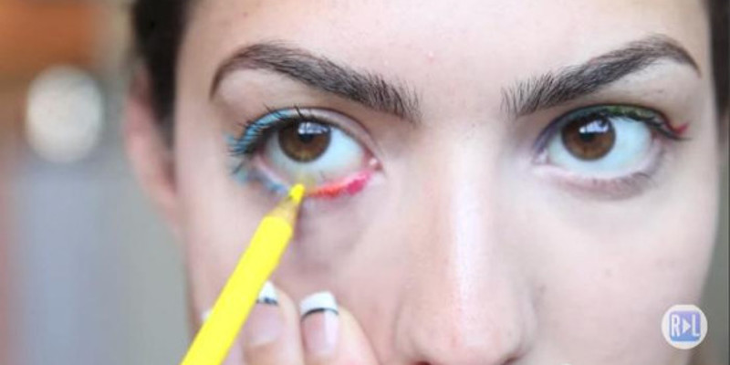 crayola warned all teenager against using colored pencils as makeup